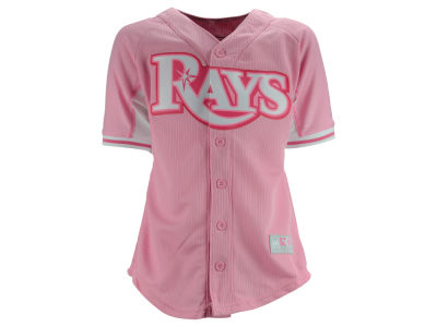 Tampa Bay Rays MLB Girls BP Jersey