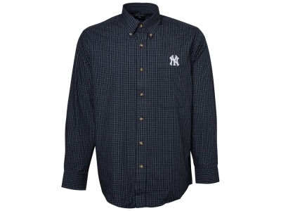 New York Yankees MLB Men's Esteem Long Sleeve Button Up Shirt