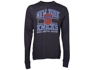 New York Knicks '47 NBA Logo Scrum Long Sleeve T-Shirt