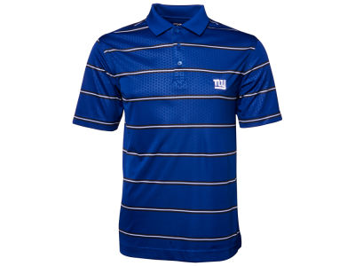 New York Giants NFL Drytec Embossed Tackle Polo