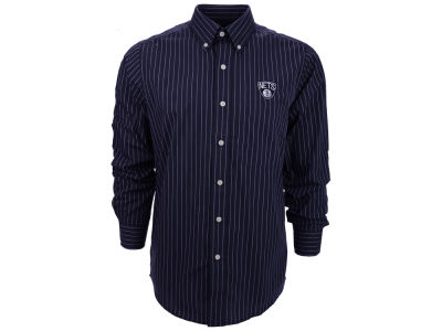 Brooklyn Nets NBA Achieve Button Down Woven Shirt