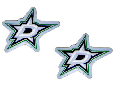 Dallas Stars Logo Post Earrings