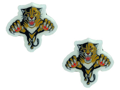 Florida Panthers Logo Post Earrings