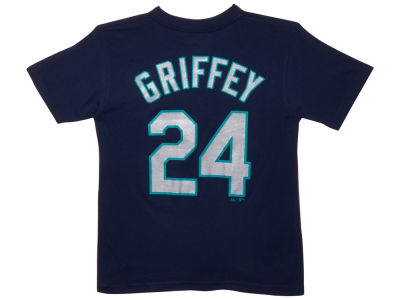 Seattle Mariners Ken Griffey Jr. Majestic MLB Youth Player T-Shirt