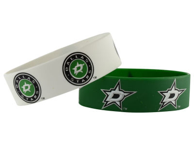 Dallas Stars 2-pack Wide Bracelet