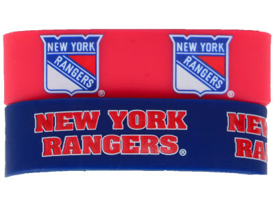 New York Rangers 2-pack Wide Bracelet