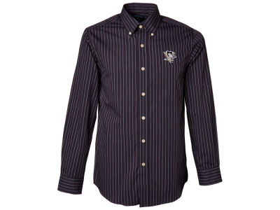 Pittsburgh Penguins NHL Achieve Long Sleeve Button Down Shirt