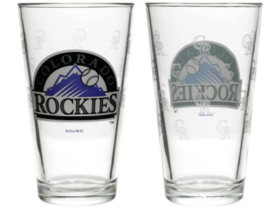 Colorado Rockies 2-pack Elite Glass Pint Set