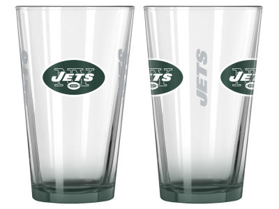 New York Jets 2-pack Elite Glass Pint Set