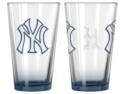 New York Yankees 2-pack Elite Glass Pint Set