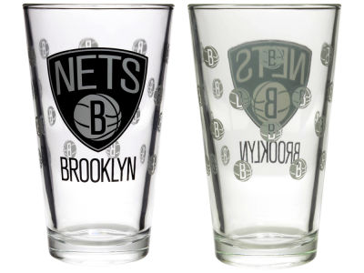 Brooklyn Nets 2-pack Elite Glass Pint Set