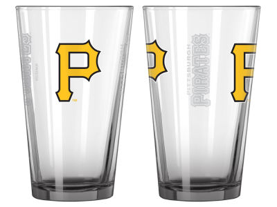 Pittsburgh Pirates 2-pack Elite Glass Pint Set