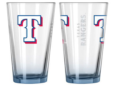 Texas Rangers 2-pack Elite Glass Pint Set