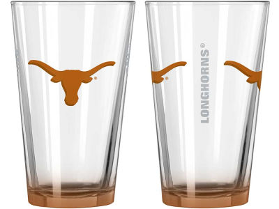 Texas Longhorns 2-pack Elite Glass Pint Set