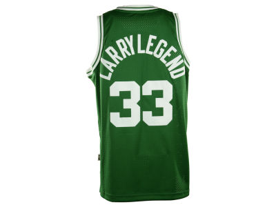 Boston Celtics Larry Bird adidas NBA Nickname Soul Swingman Jerseys