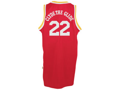 Houston Rockets Clyde Drexler adidas NBA Nickname Soul Swingman Jerseys