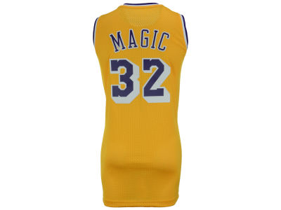 Los Angeles Lakers Magic Johnson adidas NBA Nickname Soul Swingman Jerseys