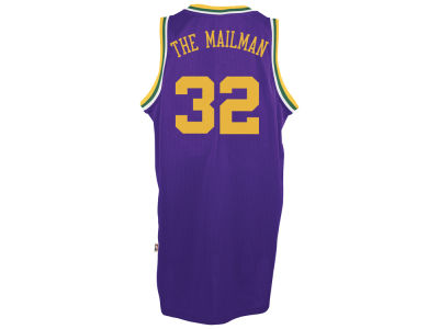 Utah Jazz Karl Malone adidas NBA Nickname Soul Swingman Jerseys