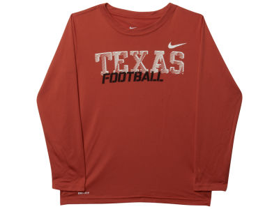 Texas Longhorns NCAA Youth Long Sleeve Dri-Fit T-Shirt