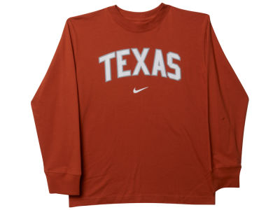 Texas Longhorns NCAA Youth Arch Long Sleeve T-Shirt