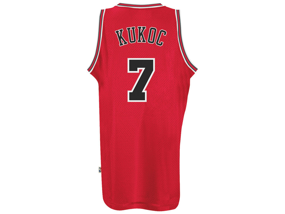 chicago bulls toni kukoc adidas nba mens retired player swingman jersey