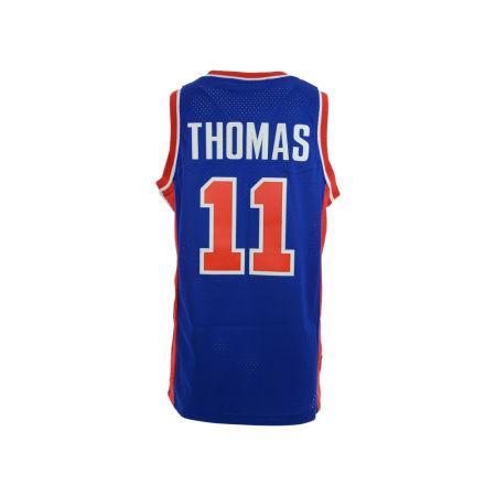 Detroit Pistons Isiah Thomas Adidas NBA Men's Retired Player Swingman Jersey