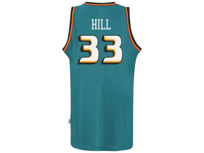 Detroit Pistons Grant Hill adidas NBA Retired Player Swingman Jersey