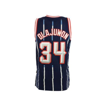 Houston Rockets Hakeem Olajuwon Adidas NBA Men's Retired Player Swingman Jersey