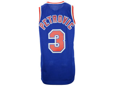 New Jersey Nets Drazen Petrovic adidas NBA Men's Retired Player Swingman Jersey