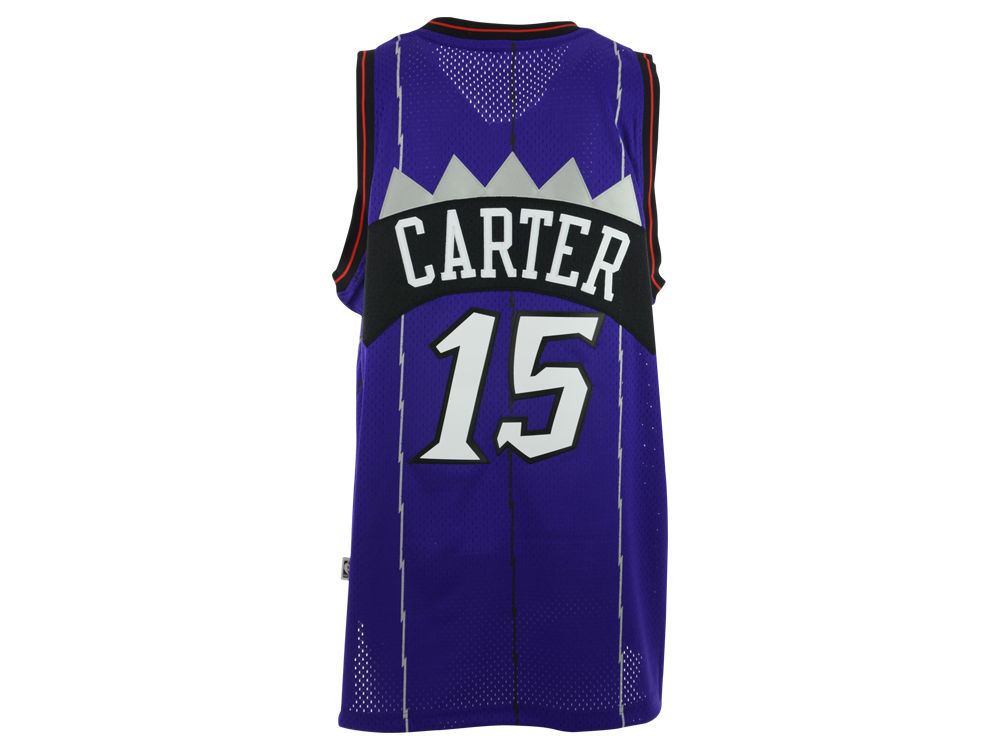 Toronto Raptors Vince Carter adidas NBA HWC Men s Player Swingman Jersey 2d4286755