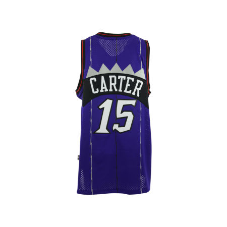 Toronto Raptors Vince Carter Adidas NBA HWC Men's Player Swingman Jersey