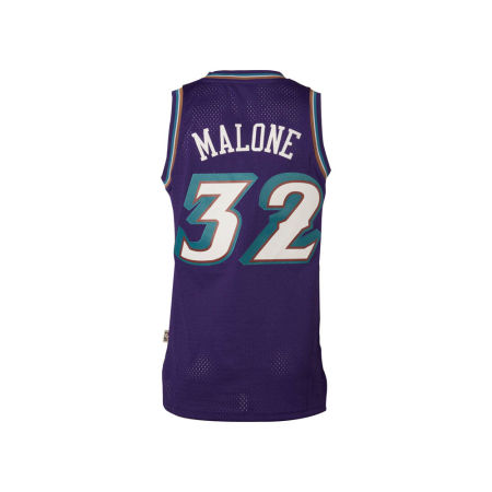Utah Jazz Karl Malone Adidas NBA Men's Retired Player Swingman Jersey