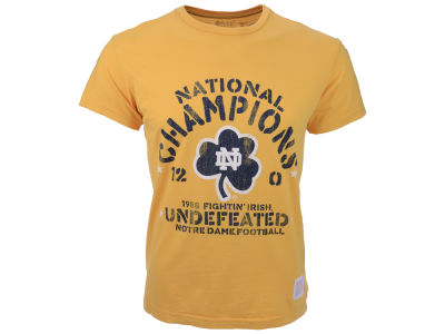 Notre Dame Fighting Irish Retro Brand NCAA 1988 Perfect Season T-Shirt