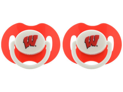 Wisconsin Badgers 2-pack Pacifier Set