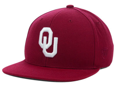 Oklahoma Sooners Top of the World NCAA Slam Fitted AC