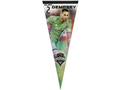 Seattle Sounders FC Clint Dempsey 12x30 Premium Player Pennant