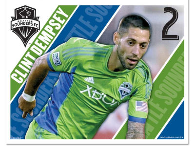Seattle Sounders FC Clint Dempsey 5x6 Ultra Decal