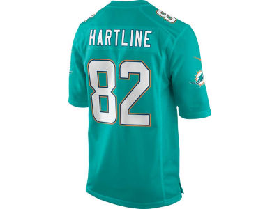 Miami Dolphins Brian Hartline Nike NFL Men's Game Jersey