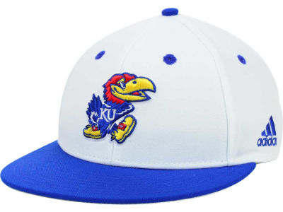 Kansas Jayhawks adidas NCAA On Field Baseball Cap