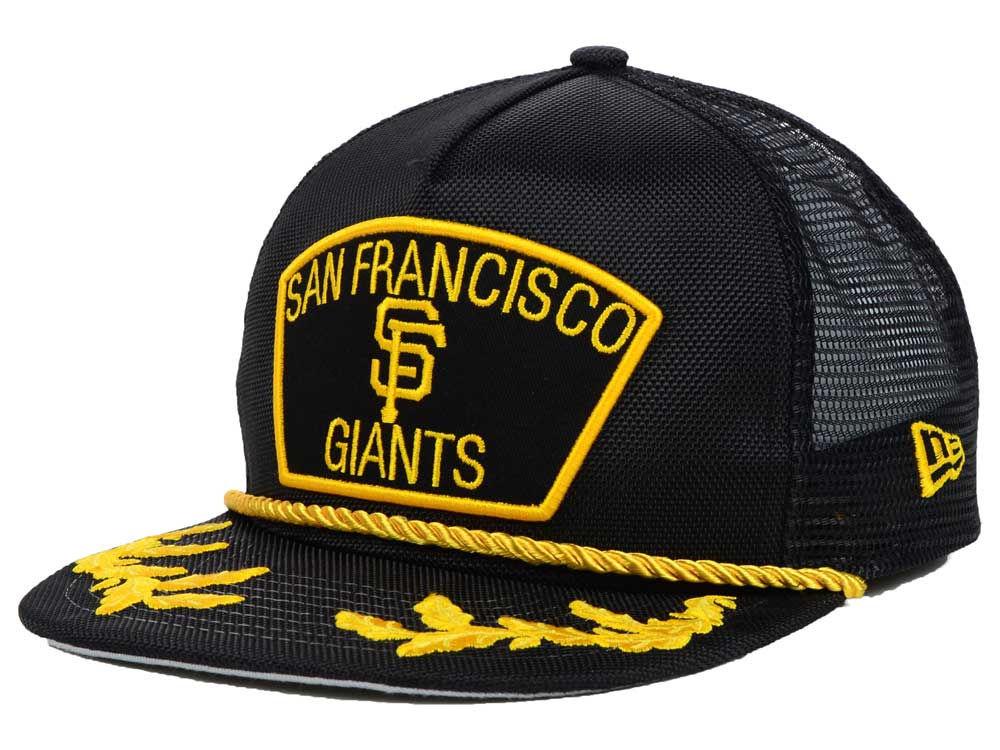San Francisco Giants New Era MLB Gold Rope 9FIFTY Snapback Cap ... 5791ac7a7