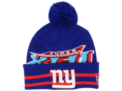 New York Giants New Era NFL Super Bowl Super Wide Point Knit