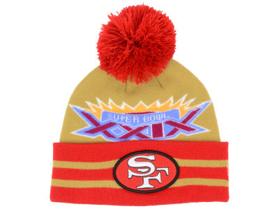 San Francisco 49ers New Era NFL Super Bowl Super Wide Point Knit