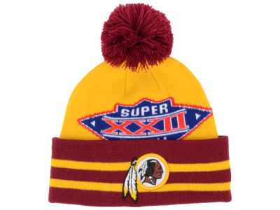 Washington Redskins New Era NFL Super Bowl Super Wide Point Knit