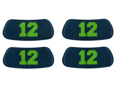Seattle Seahawks 2 Pair Eyeblack Sticker