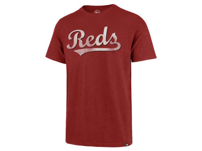 Cincinnati Reds '47 MLB Men's Scrum Logo T-Shirt