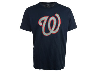 Washington Nationals '47 MLB Men's Scrum Logo T-Shirt