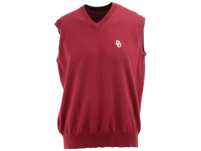 Oklahoma Sooners NCAA Men's Solid Sweater Vest