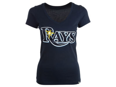 Tampa Bay Rays '47 MLB Women's Showtime V Neck T-Shirt