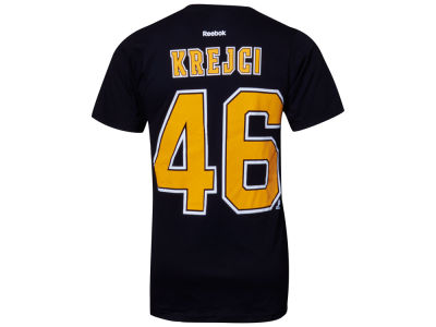 Boston Bruins David Krejci Reebok NHL Premier Player T-Shirt