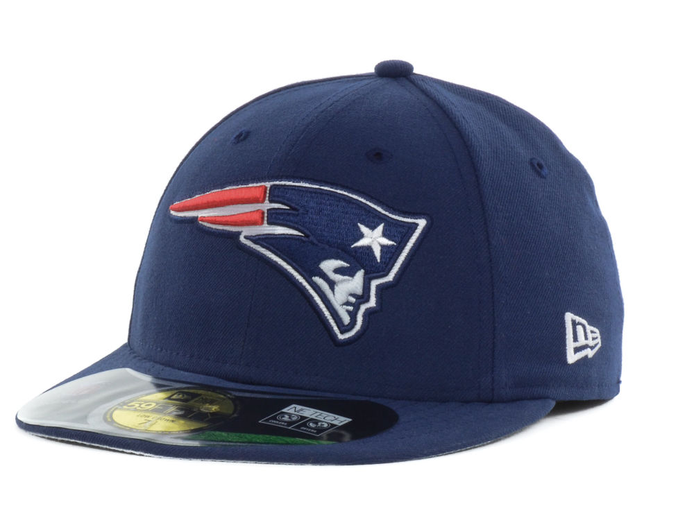 41226a828a0 New England Patriots New Era NFL On Field Low Crown 59FIFTY Cap ...